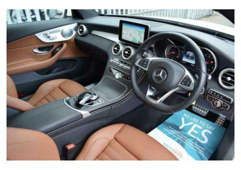 2016 Mercedes-Benz C Class 2.0 C200 AMG Line (Premium Plus) 7G-Tronic+ (s/s) 2dr